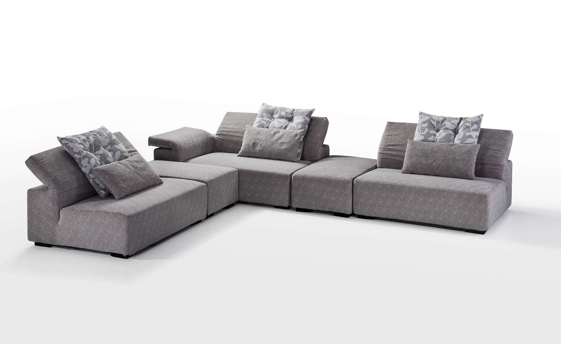 Wohnlandschaft jana designer sofa couch couchgarnitur for Polster ecksofa