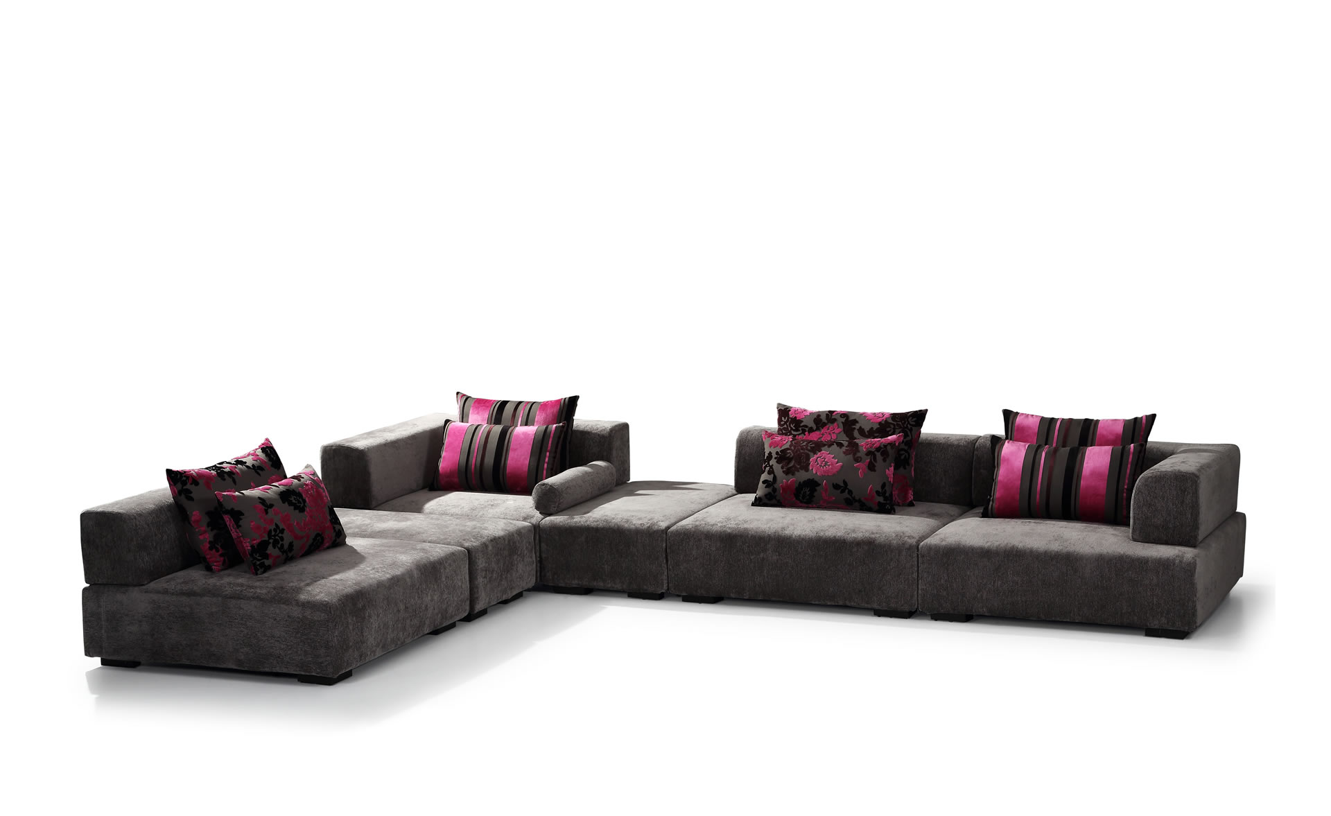 xxl wohnlandschaft alina designer sofa couch couchgarnitur eckgarnitur ecksofa ebay. Black Bedroom Furniture Sets. Home Design Ideas